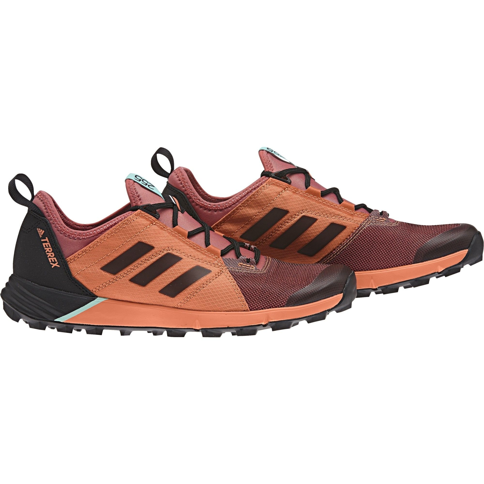 adidas Terrex Agravic Speed Rot, Female EU 38 -Farbe Tactile Pink -Core Black -E